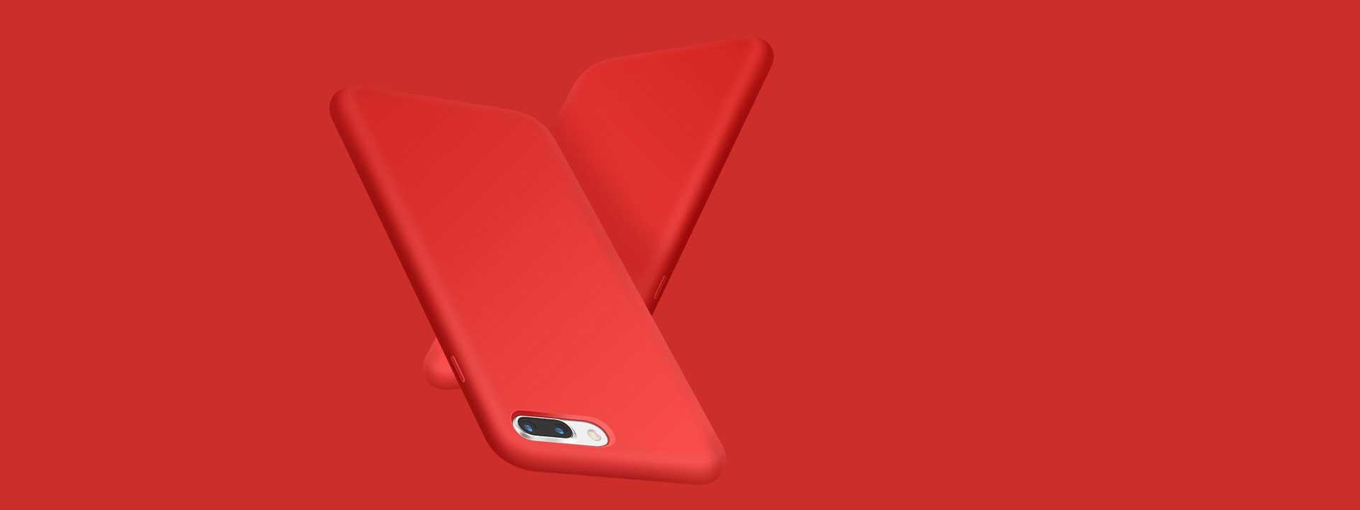 iPhone 8 Plus Skal Silikon