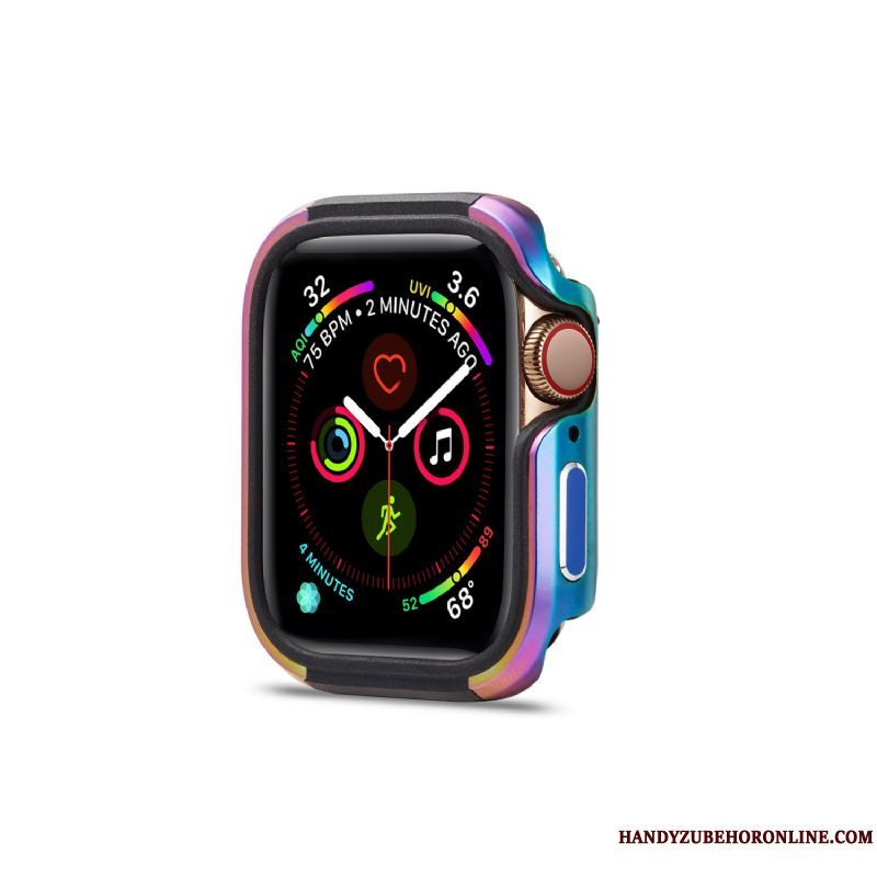 Skal Apple Watch Series 1 Metall Fallskydd Pu, Fodral Apple Watch Series 1 Skydd Färg Frame