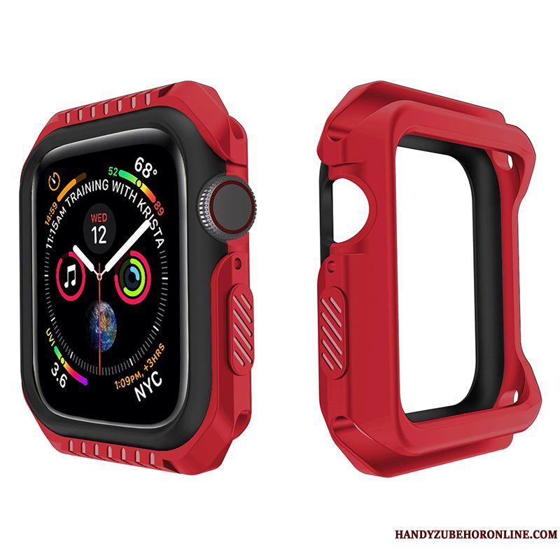Skal Apple Watch Series 1 Mjuk Röd Fallskydd, Fodral Apple Watch Series 1 Skydd