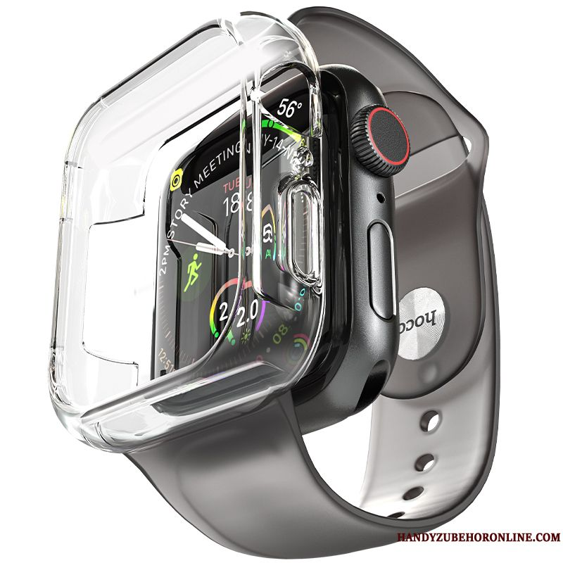 Skal Apple Watch Series 1 Påsar Plating Grå, Fodral Apple Watch Series 1 Silikon Tillbehör Trend