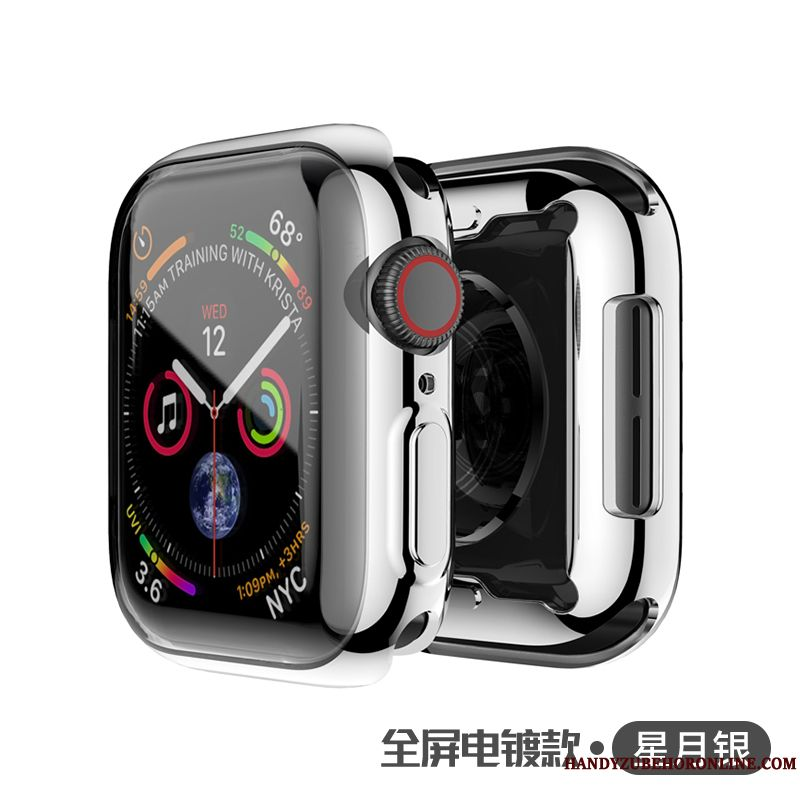 Skal Apple Watch Series 1 Påsar Silver Universell, Fodral Apple Watch Series 1 Skydd Transparent Plating
