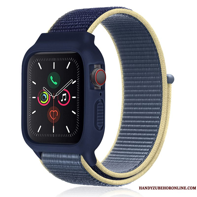 Skal Apple Watch Series 1 Silikon Ny Trend, Fodral Apple Watch Series 1 Sport Blå
