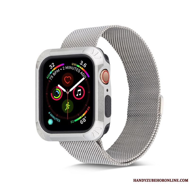Skal Apple Watch Series 4 Påsar Plating Tillbehör, Fodral Apple Watch Series 4 Mjuk Universell Tunn