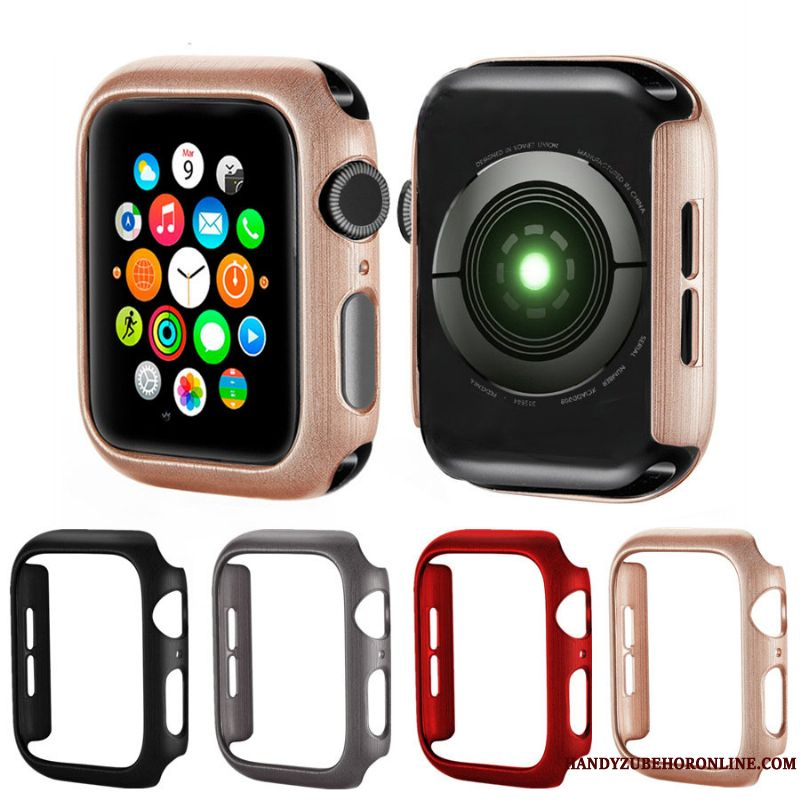 Skal Apple Watch Series 4 Skydd Silke Rosa, Fodral Apple Watch Series 4 Mönster Tillbehör