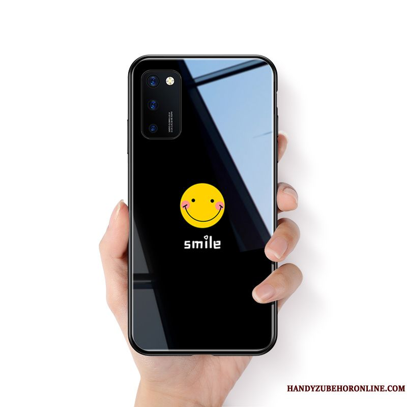 Skal Honor View30 Pro Mode Smiley Par, Fodral Honor View30 Pro Kreativa Vacker Trend
