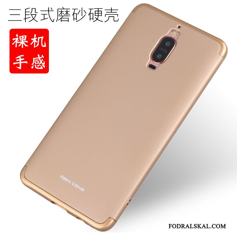 Skal Huawei Mate 9 Pro Metall Frametelefon, Fodral Huawei Mate 9 Pro Skydd Rosa Ny