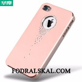 Skal iPhone 4/4s Metall Telefon Rosa, Fodral iPhone 4/4s Skydd