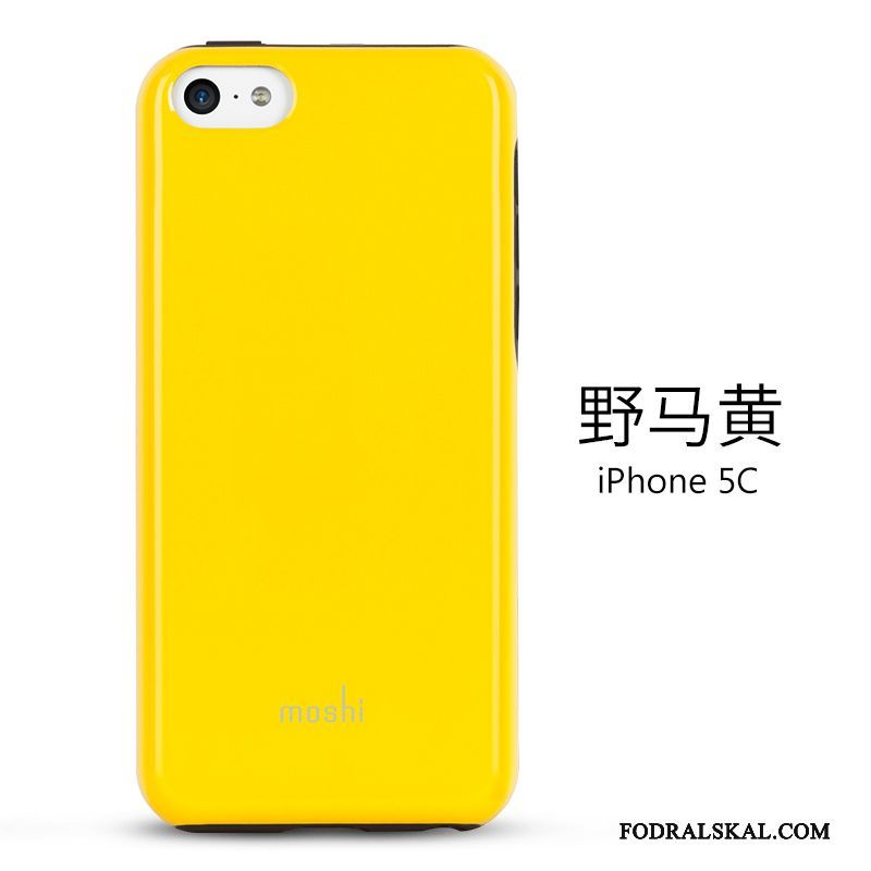 Skal iPhone 5c Skydd Gultelefon, Fodral iPhone 5c Slim