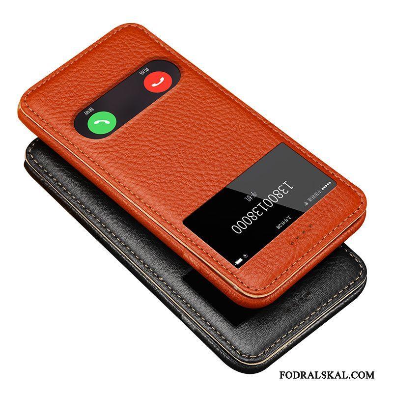Skal Iphone 6 6s Plus Läder Fallskydd Gul e508cb2ee7102